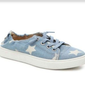 Steve madden | star print lace up sneakers